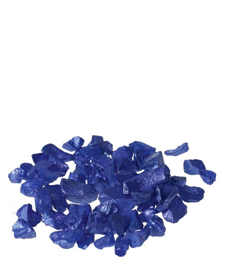 Top Dressing Topdressing Cobalt Crushed Glass