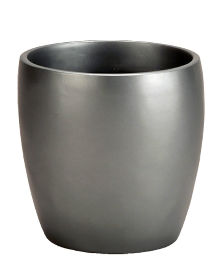 Fiberglass Container Planter Euro Cylinder