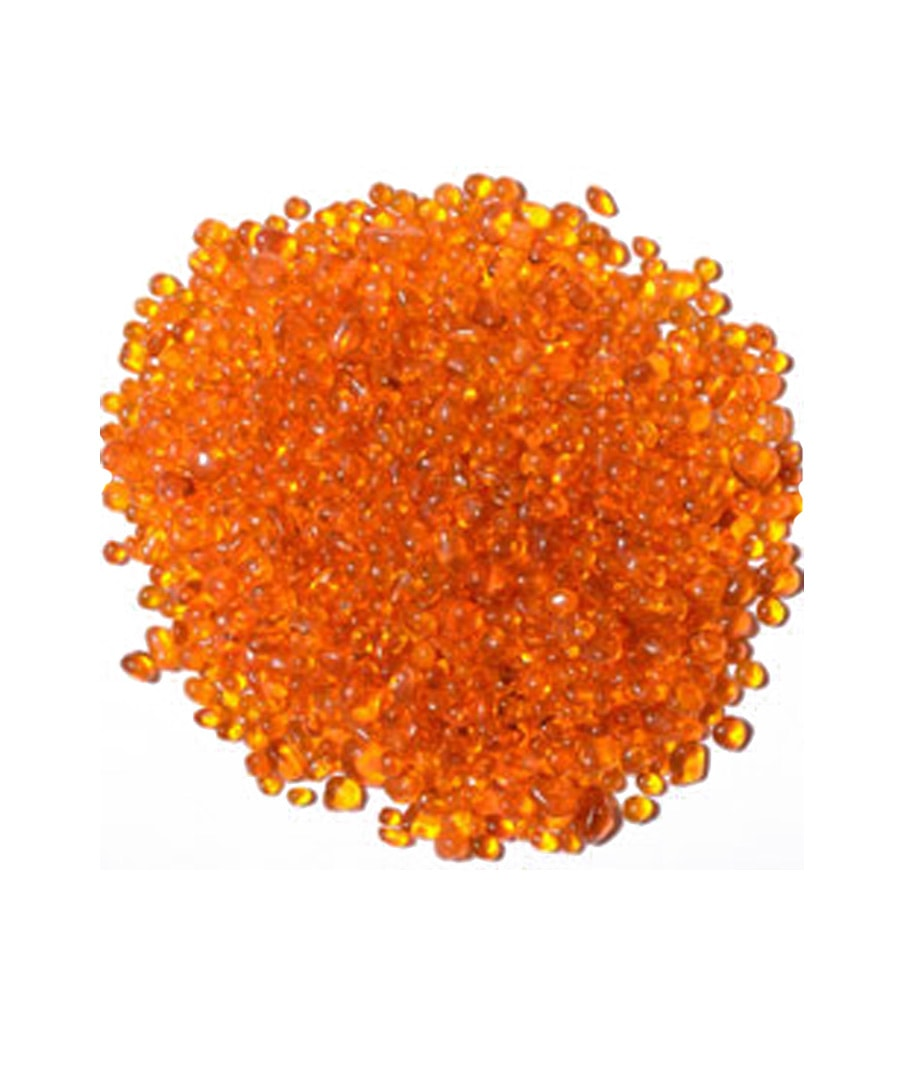 Topdressing Top Dressing Orange Pearlized Glass